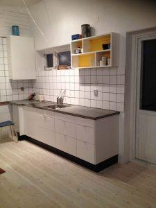 Kök betongbänk Gotland