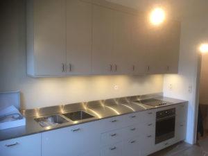 Nytt kök i funkisstil i Kärrtorp